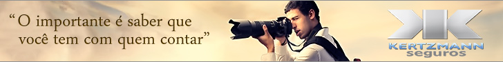 Seguro para equipamentos fotográficos. Fotografe com tranquilidade.